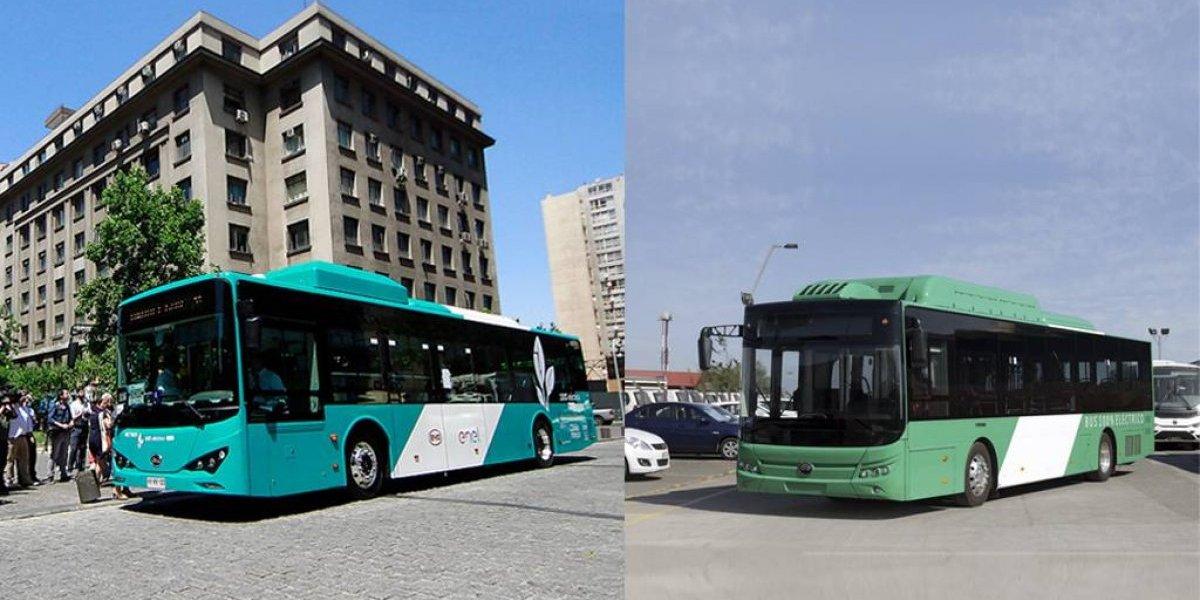 Transantiago versus Transantiago: esta es la comparación de los dos tipos de buses eléctricos que circularán por la capital