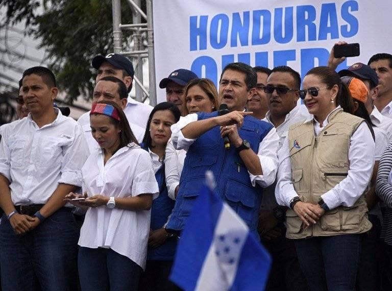 Juan Orlando Hernández, presidente hondureño