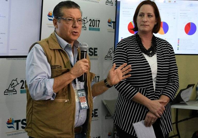 David Matamoros, presidente del TSE de Honduras