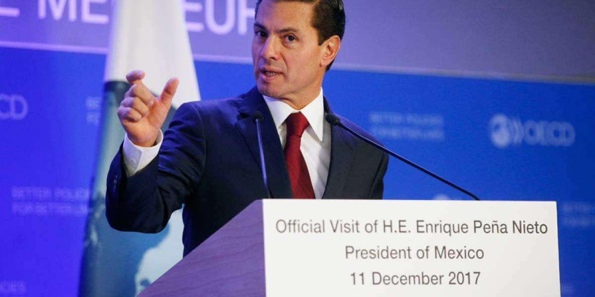 VIDEO. Enrique Peña Nieto dice que México se ha 'volvido' un referente mundial