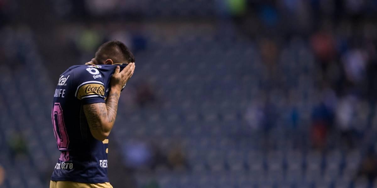 """En México le pegan a Nicolás Castillo: """"La mayor parte del tiempo estuvo lesionado"""""""