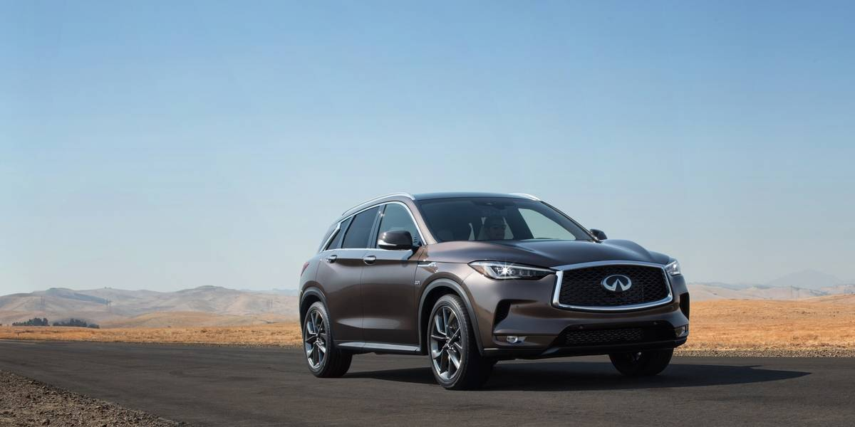 En Los Angeles, Infiniti exhibe su QX50