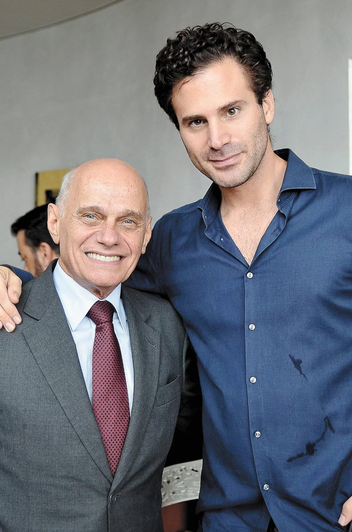 Ricardo Boechat e José Saad Duailibi Divulgação