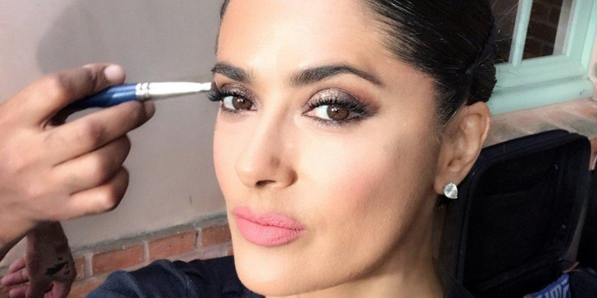 Salma Hayek sorprende con su cambio de look