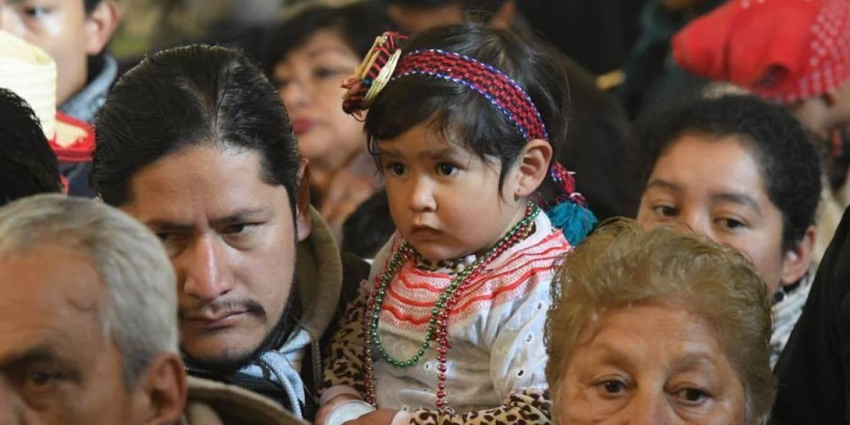 Fervor y colorido en el Santuario de Guadalupe por el día de la Virgen