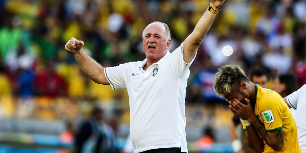 Luiz Felipe Scolari descartó llegar a la selección chilena aunque reconoció contactos
