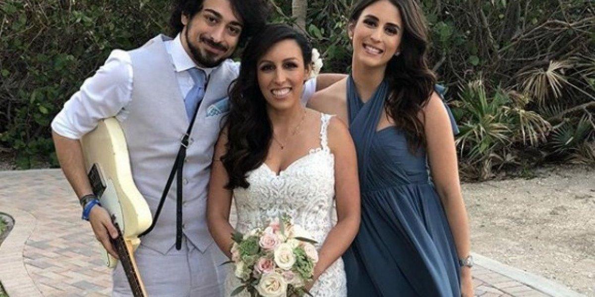 Así fue la boda de la hija mayor de Giselle Blondet
