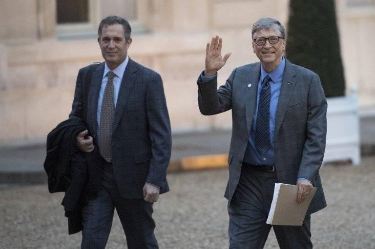 Bill Gates en París
