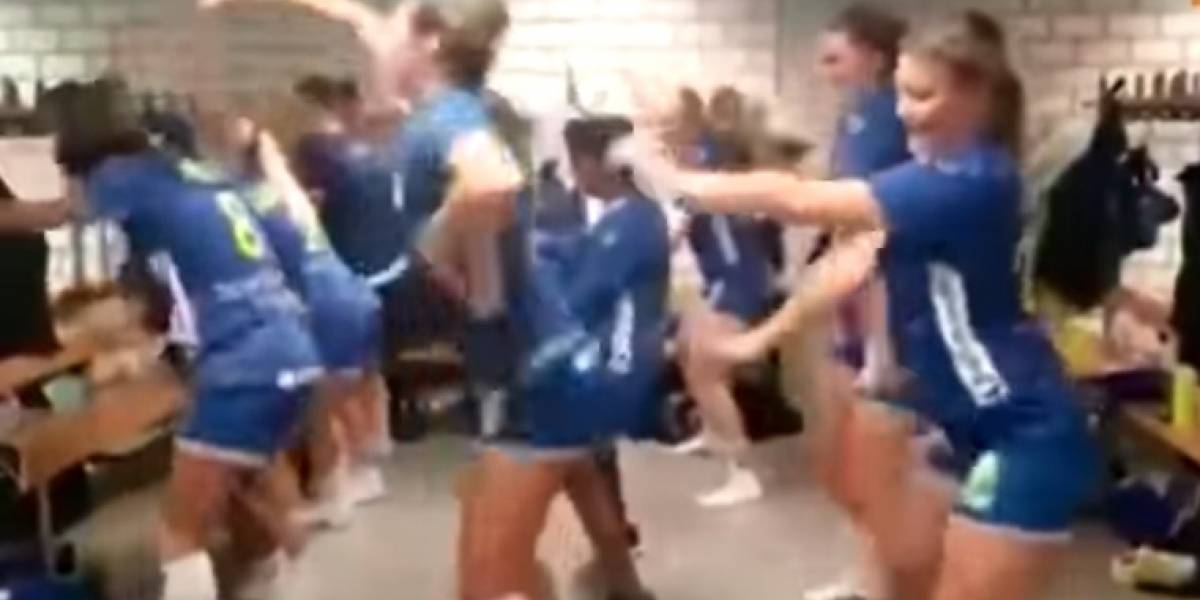 VIDEO: Seleccionadas bailan reggeaton con tremendos movimientos