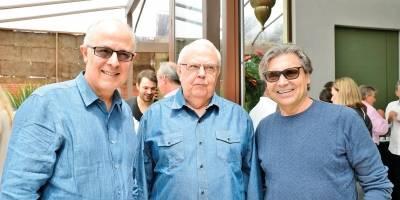 Teodomiro Diniz, Denis Gomide e Carlos Rubens Doné