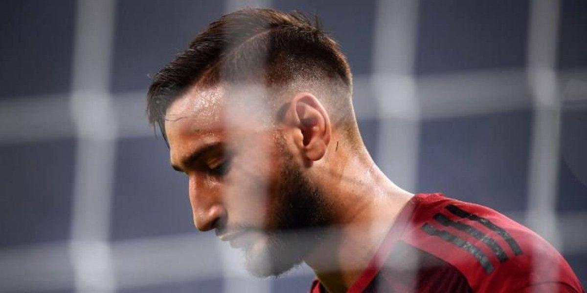 """""""Ándate, la paciencia se acabó"""": Los hinchas del Milan se lanzaron contra Donnarumma"""