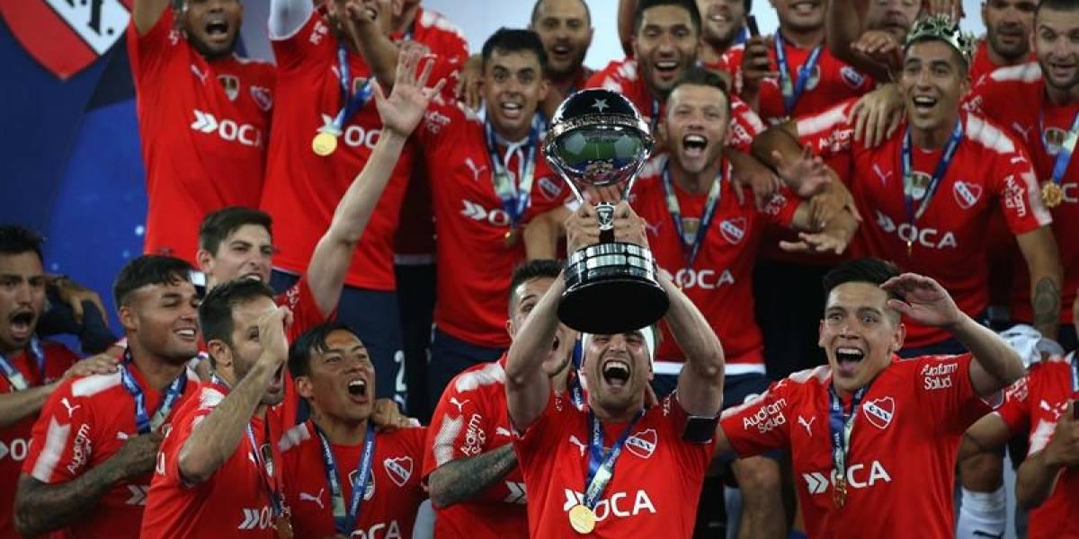 Rey de Copas: Independiente logró la hazaña y conquistó su segunda Sudamericana