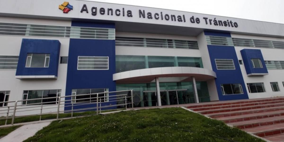 ANT suspendió entrega de licencias y otros servicios de tránsito