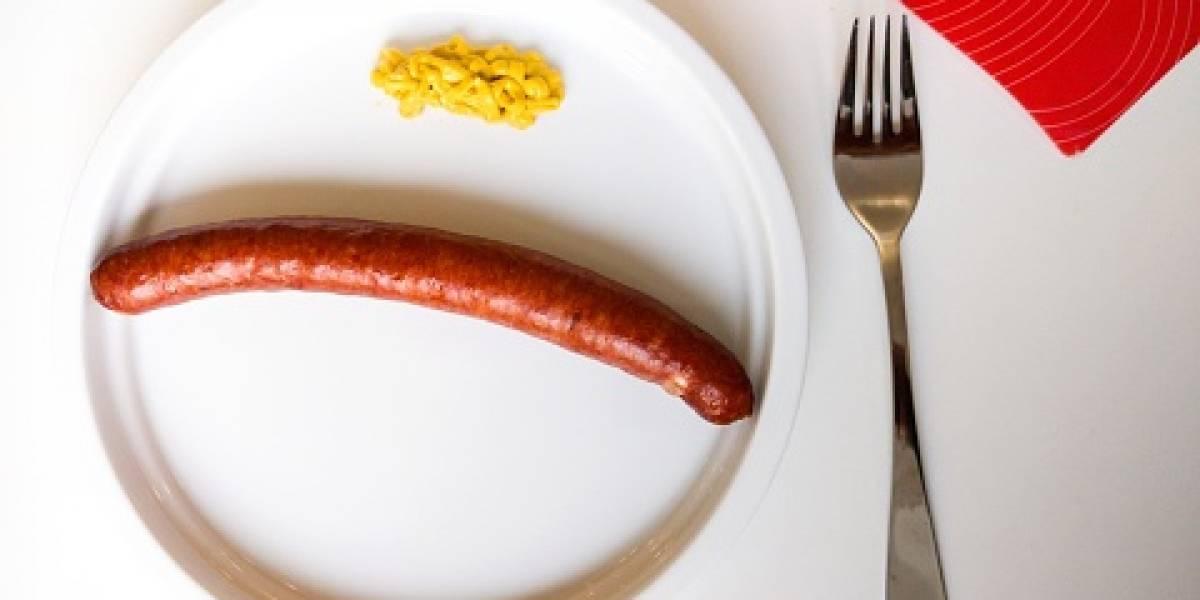 Las salchichas vegetarianas son tan malas como la carne