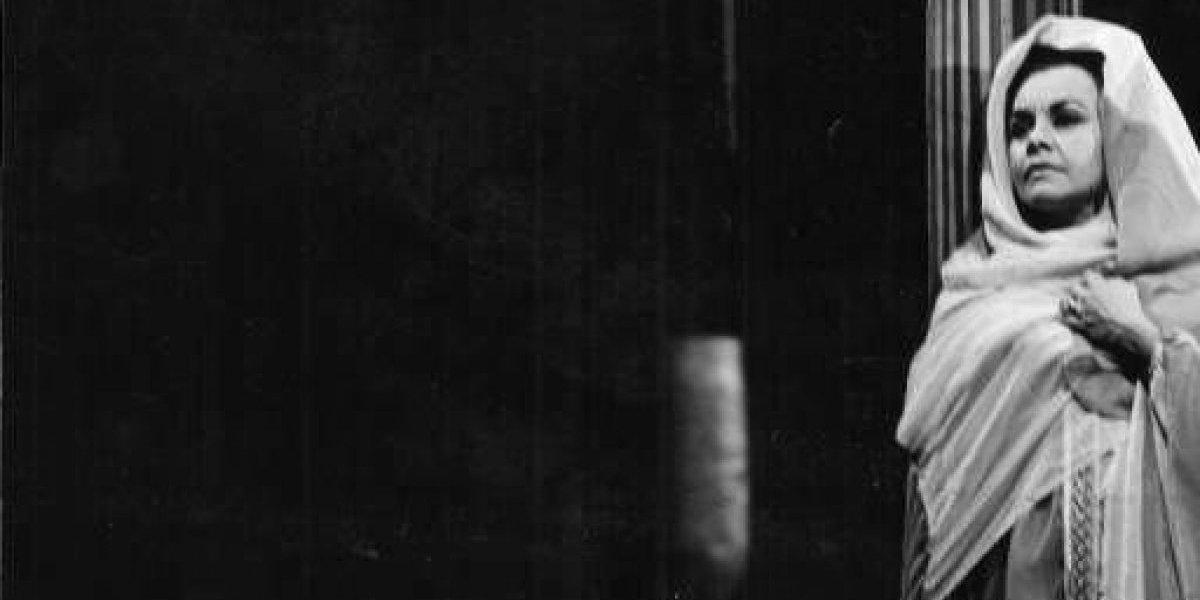Fallece la actriz María Judith Franco
