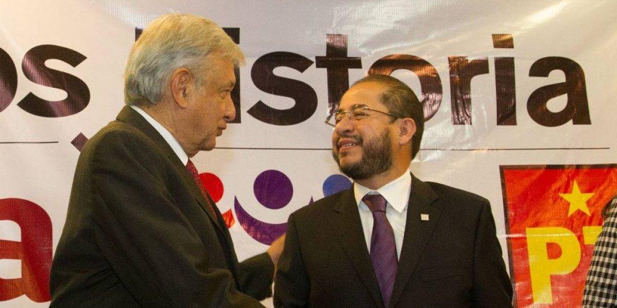 AMLO está decepcionado de Morena, asegura Hugo Eric Flores, líder del 'PES'