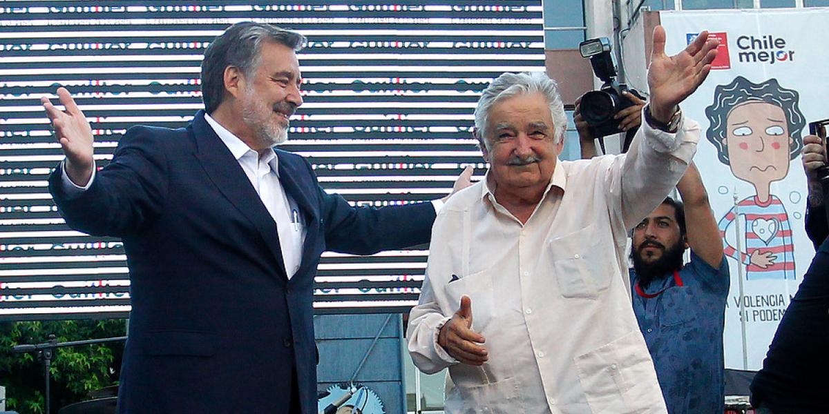 """""""Pepe Mujica viene a apoyar a Guillier y a Piñera la Marlen"""": """"el golazo"""" del candidato oficialista que remeció a Twitter"""