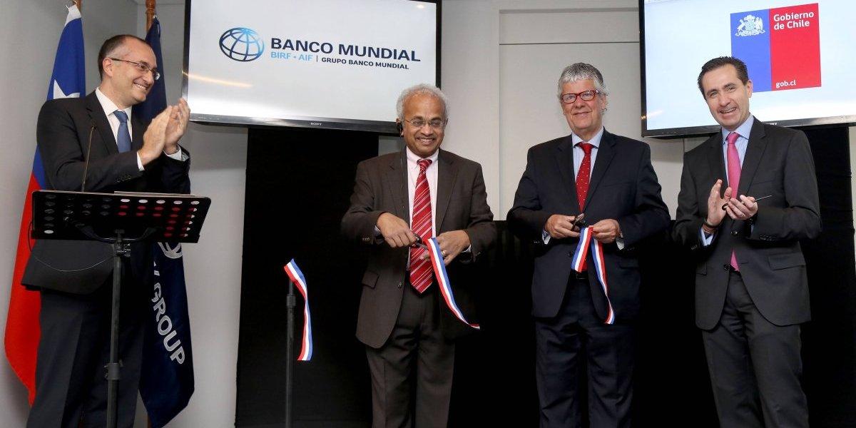 Banco Mundial abre en Chile su segundo centro de investigación y desarrollo