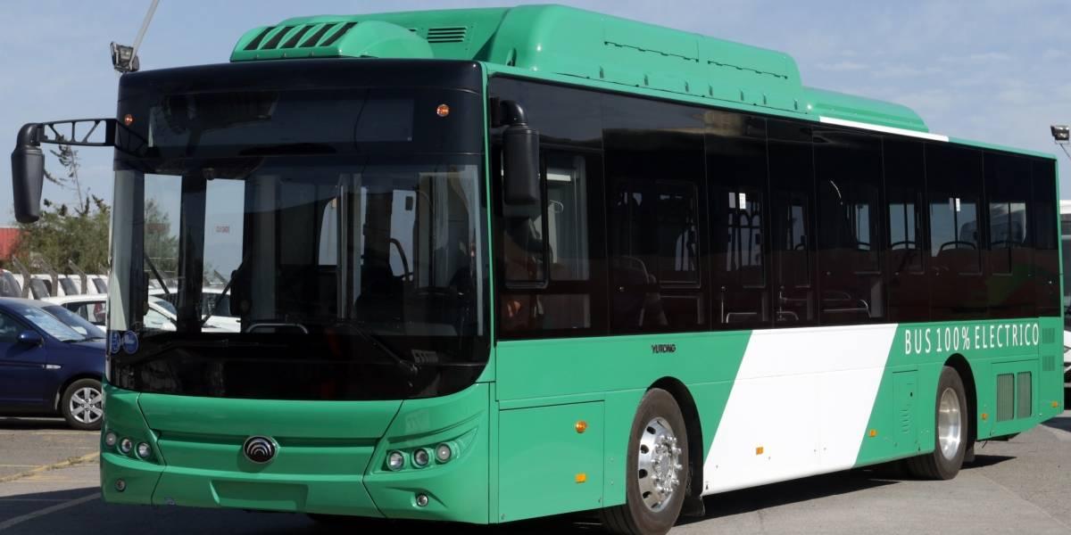 El Transantiago suma un bus eléctrico