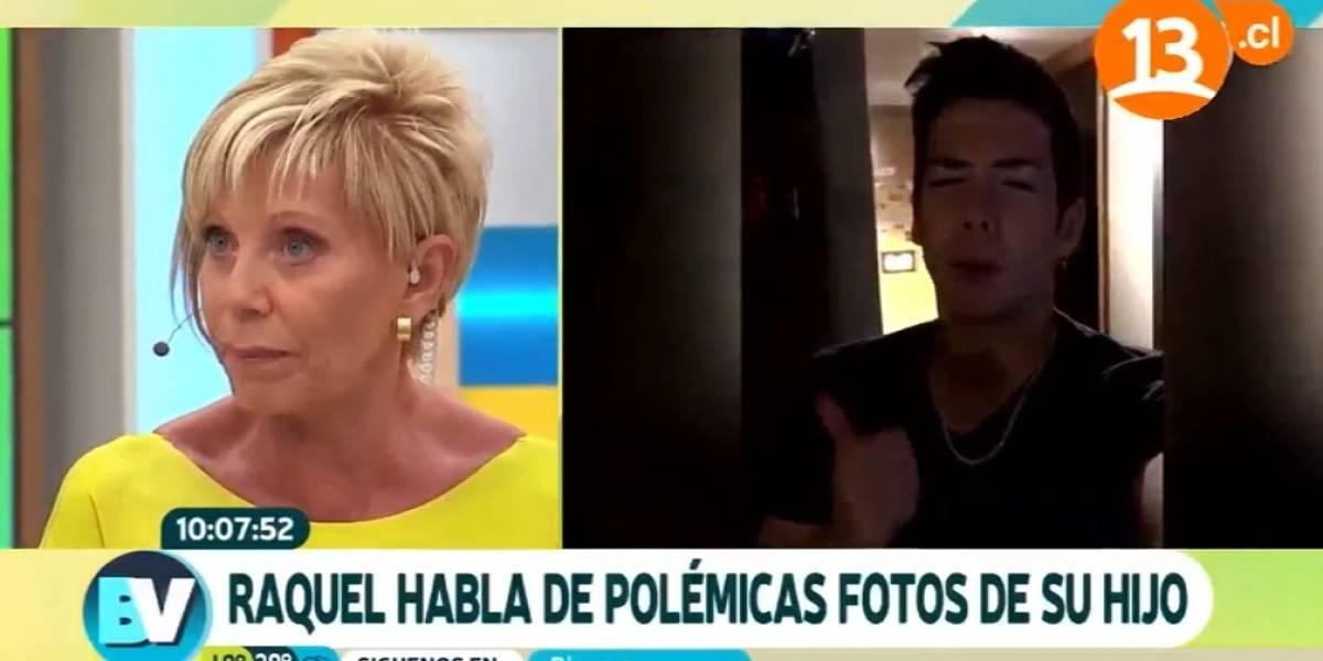 """Raquel Argandoña y las polémicas fotos de su hijo: """"No encuentro nada de malo... no se hagan los cartuchos"""""""