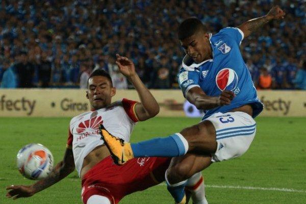Gol de Millonarios vs Santa Fe final Liga Águila 2017