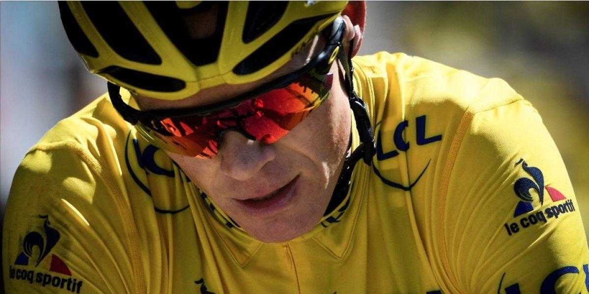 El cuatro veces campeón del Tour de Francia da un susto al ciclismo mundial