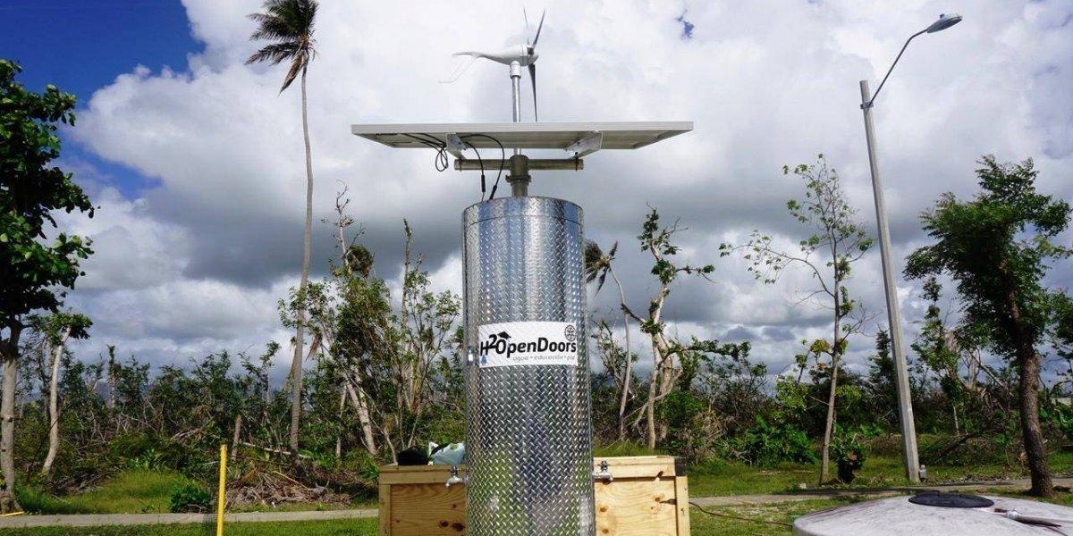 Moderno sistema de filtración de agua comenzará a operar en Punta Santiago
