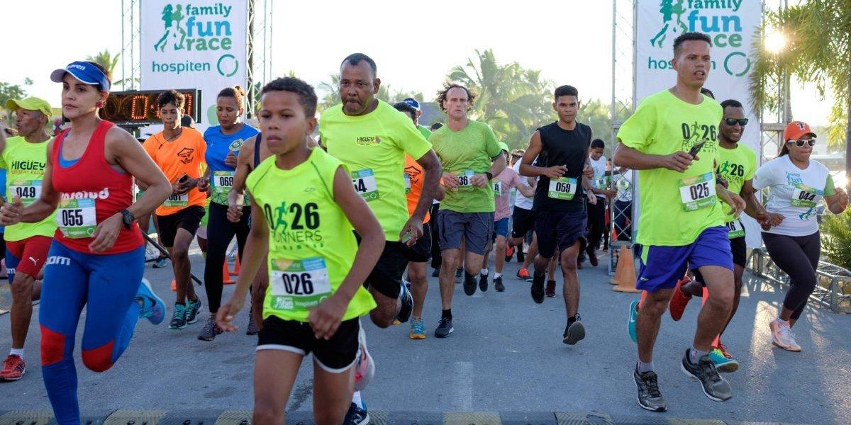 Hospiten celebra primer Family Fun Race en Bávaro