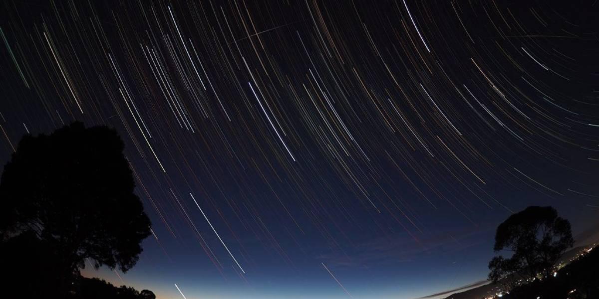 Grande chuva de meteoros poderá ser vista no céu na madrugada