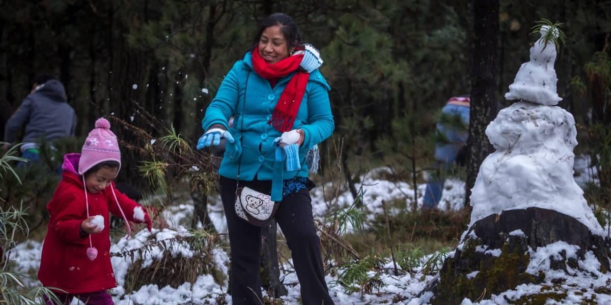 México tendrá una 'helada' Navidad; se esperan nevadas y temperaturas bajo cero