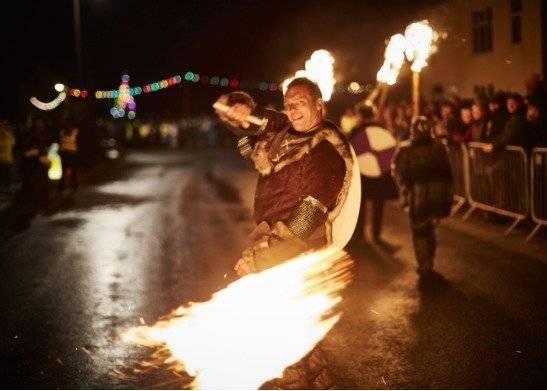 Reprodução / Flamborough Fire Festival