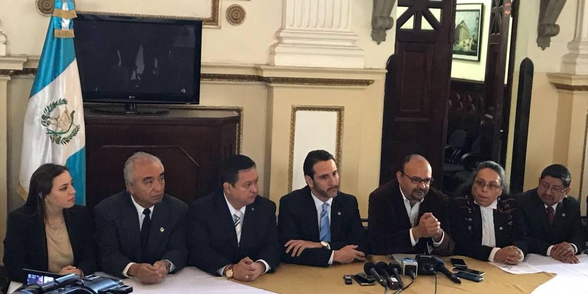 Acción Ciudadana y Frente Parlamentario acuerdan impulsar agenda de transparencia