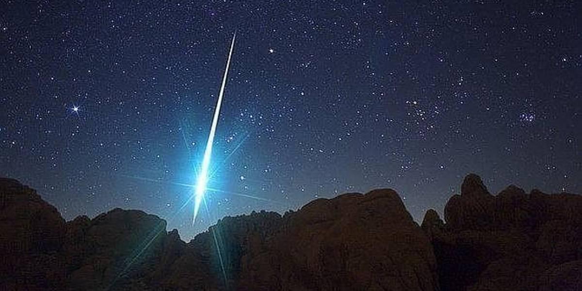 Cómo y cuándo ver la última lluvia de estrellas del año