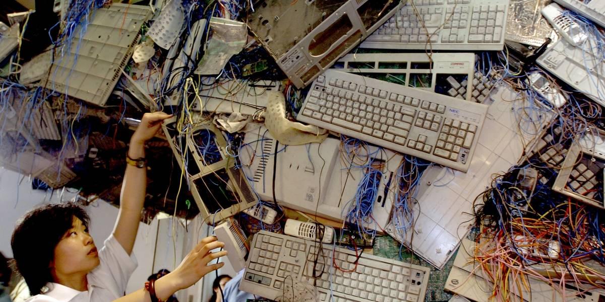 La chatarra electrónica es el mayor problema con la basura del mundo