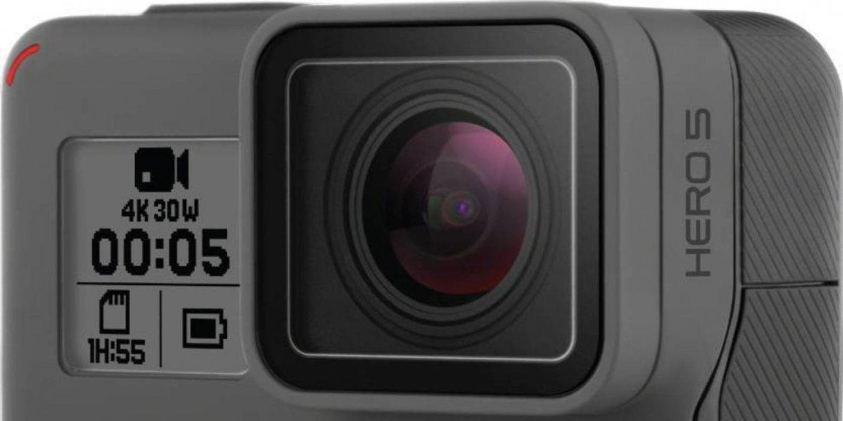 Bajaron los precios de la serie de cámaras de aventura Go Pro HERO5