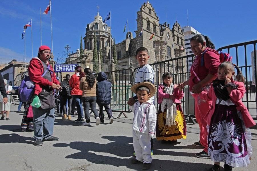 Reportan saldo blanco en el Santuario de la Virgen de Guadalupe