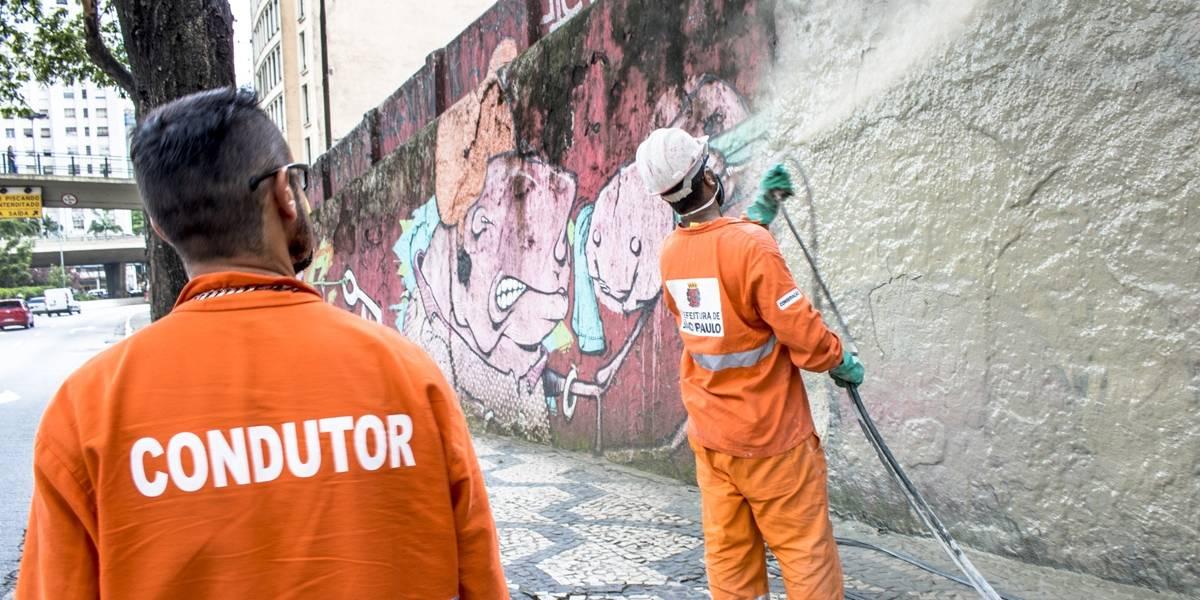 Doria e Prefeitura de SP são condenados por apagar grafites na cidade