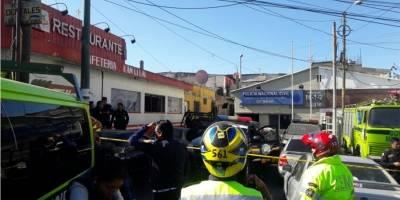 Agentes de PNC heridos por explosión
