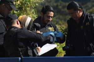 cadáver bajo puente San Cristóbal