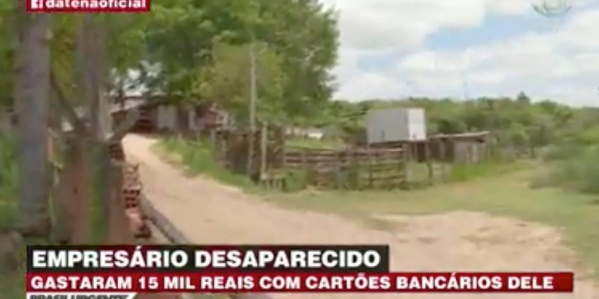 Polícia investiga desaparecimento de empresário no interior de São Paulo