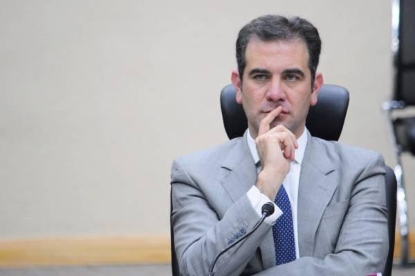El consejero presidente del INE, Lorenzo Córdova.