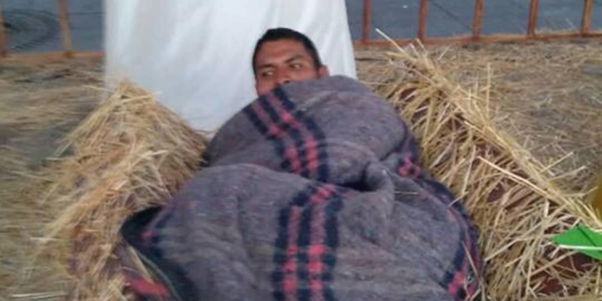 Indigente hallado en nacimiento en México