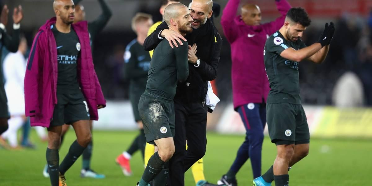 Manchester City logró lo que ningún club en 129 años