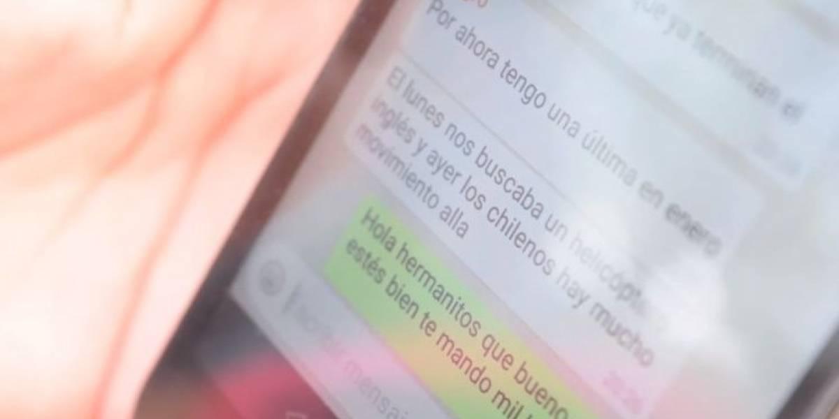 """""""Nos buscaba un helicóptero inglés y ayer los chilenos"""": el último mensaje que envió un tripulante del ARA San Juan"""