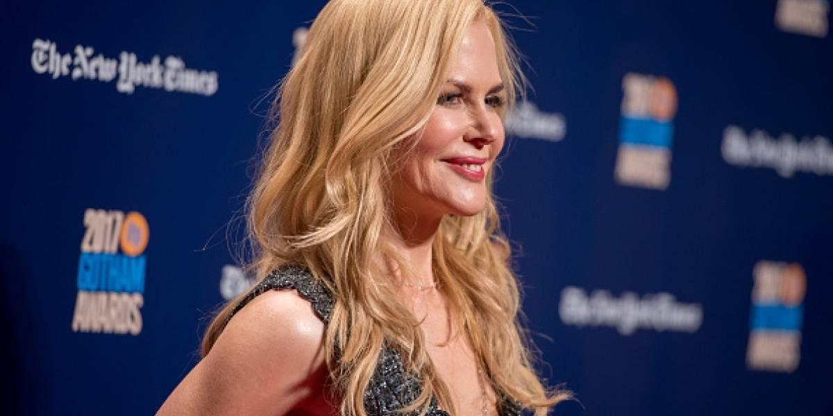 Nicole Kidman luce irreconocible con el radical cambio look para su nueva película