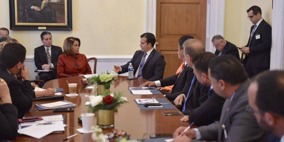 Rosselló se reúne con líderes congresionales