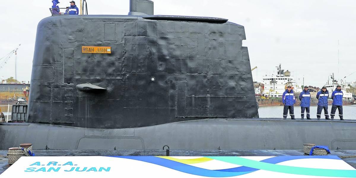 El enigmático mensaje de un submarinista de Salta — ARA San Juan