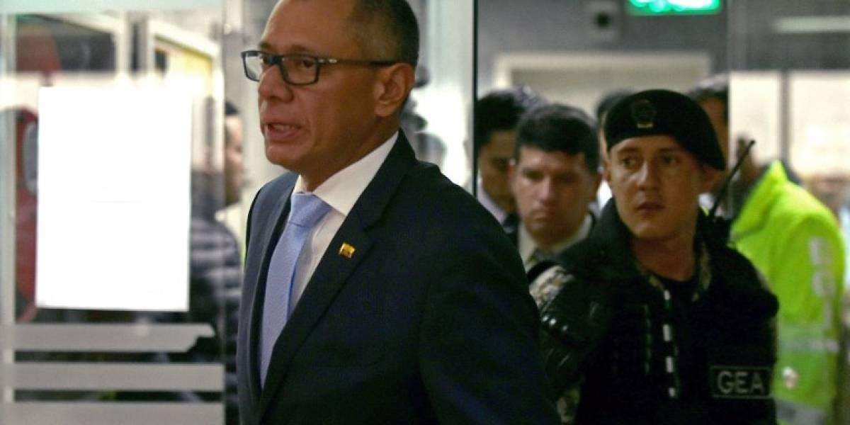 Vicepresidente ecuatoriano, condenado a seis años de cárcel
