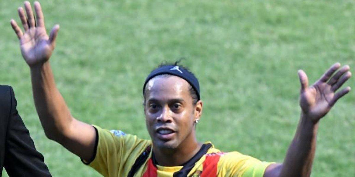Ronaldinho será candidato en las próximas elecciones del país — Brasil