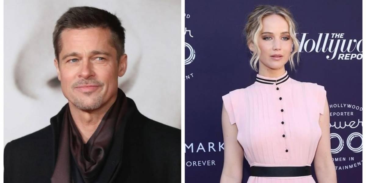 Brad Pitt e Jennifer Lawrence estariam saindo juntos, diz jornal